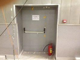 металлические противопожарные двери EI90