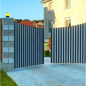Ворота от компании doorsgroup.ru